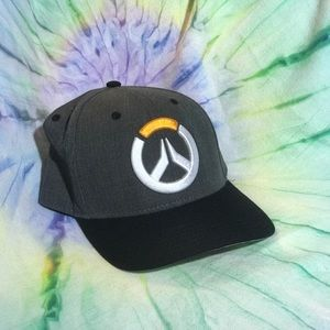 Overwatch tracer video game hat